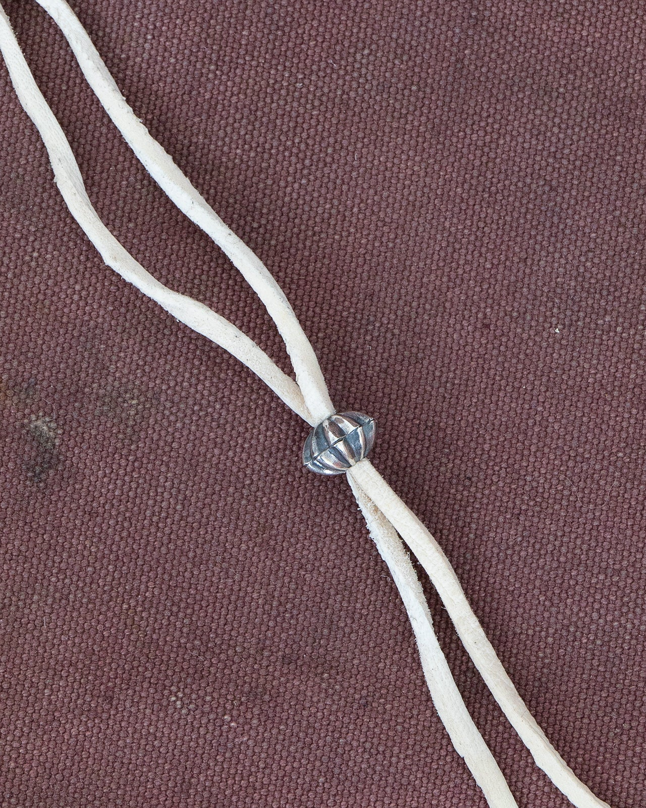 Larry Smith, Silver Shell Concha Bead, XS