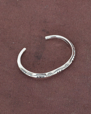 Larry Smith Thin Triangle Bangle 3 Point