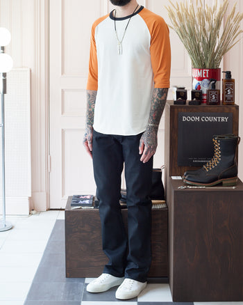 Worn Together With: Indigofera Hawk Jeans  and Erik Schedin Sneakers.