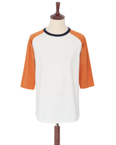 Indigofera Leon Raglan Sweater, Orange