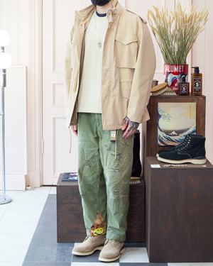 Beaugan M65 Field Jacket, Visvim Virgil Boots