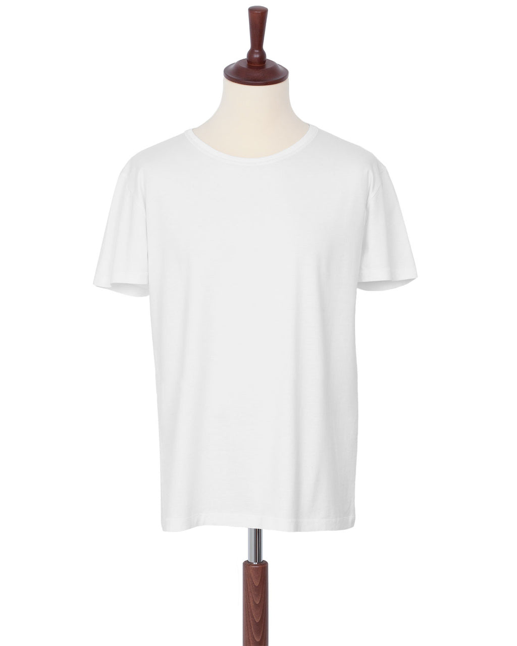 Indigofera Malick T-Shirt, Cocatoo White