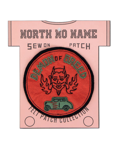 North No Name, Felt Patch, Demon of Greed