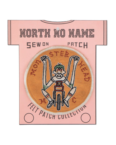 North No Name, Felt Patch, Monster Head MC