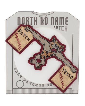 North No Name, Felt Patch, Patch Banner