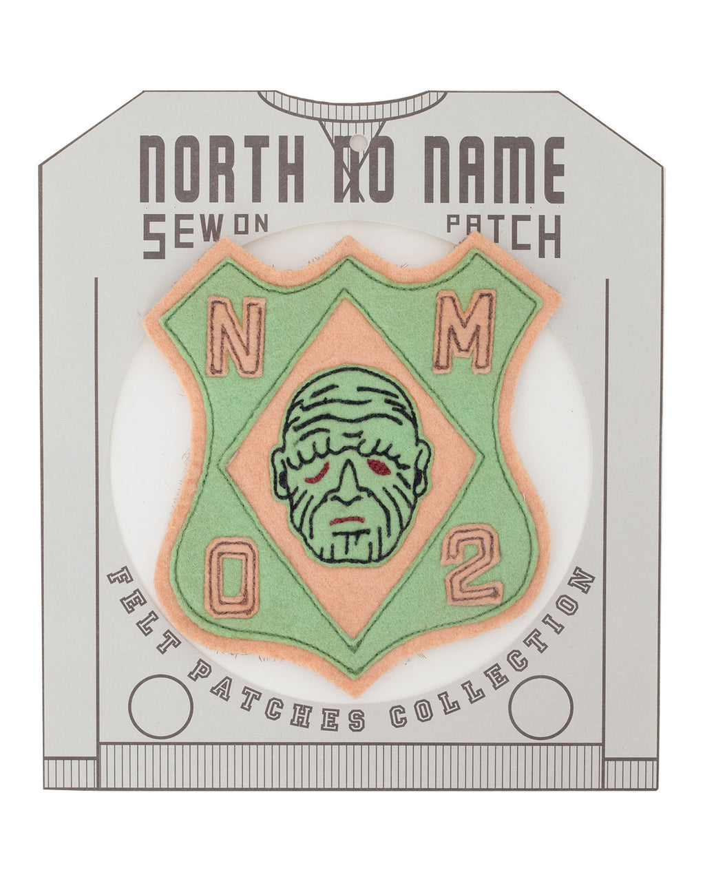 North No Name, Felt Patch, Mon 2