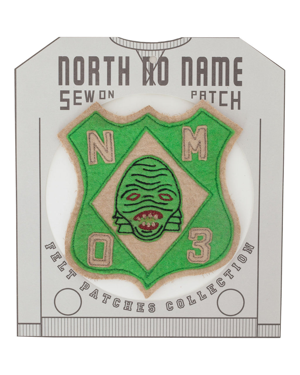 North No Name, Felt Patch, Mon 3