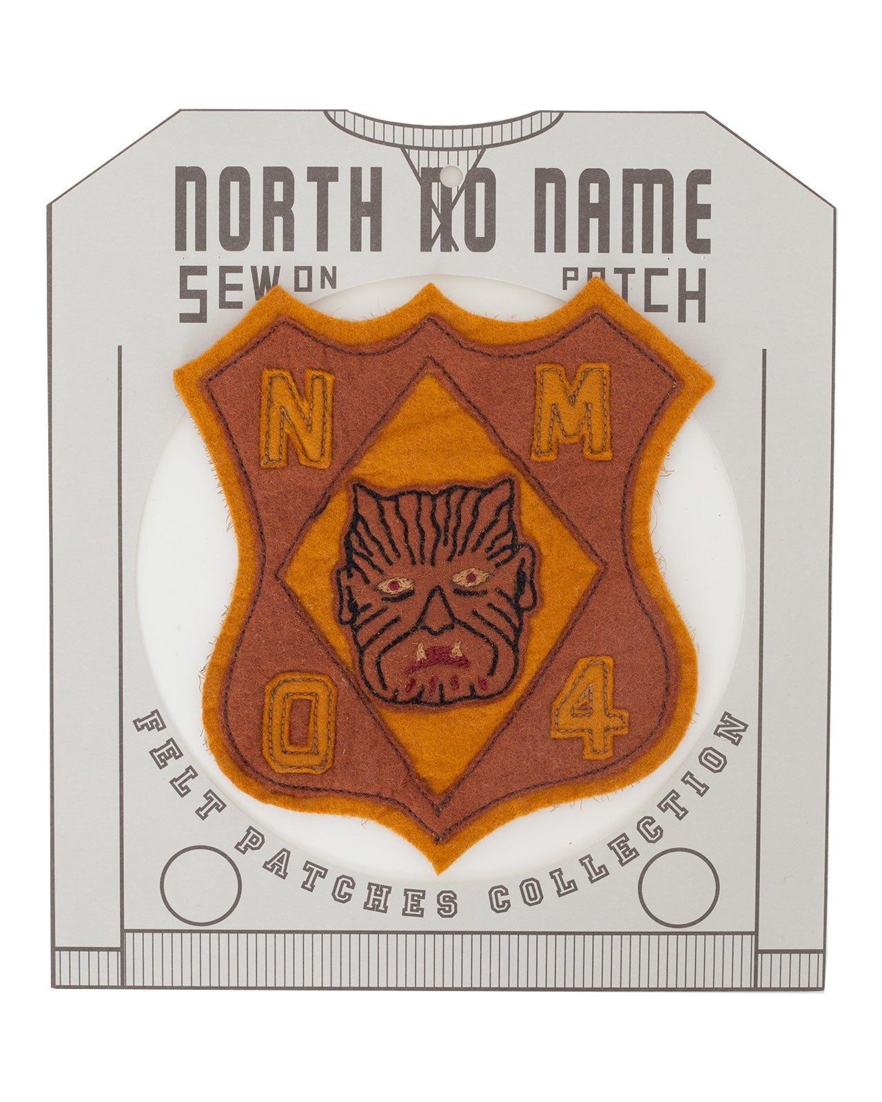 North No Name, Felt Patch, Mon 4