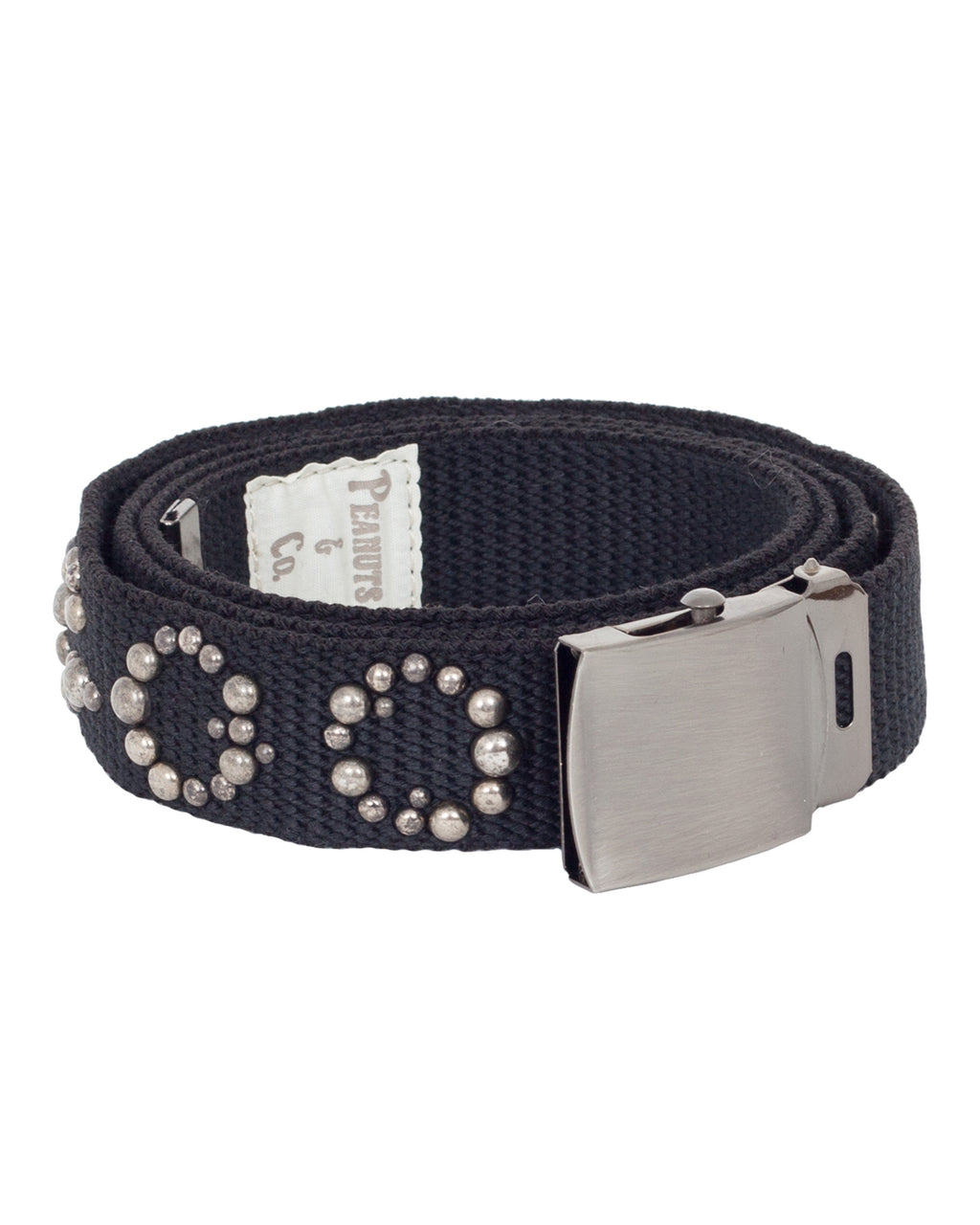 Peanuts & Co Studded Gacha Belt, Black