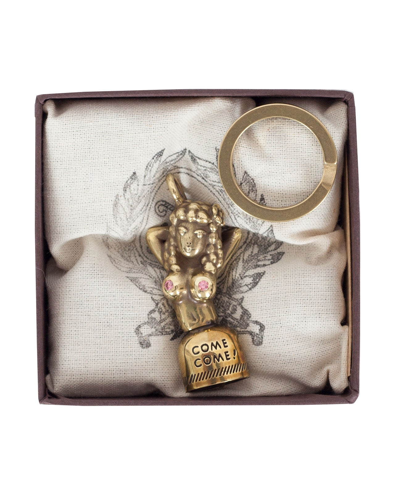 Peanuts & Co Come Come Bell Key Ring