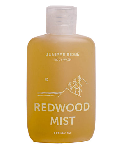 Juniper Ridge Body Wash, Redwood Mist, 2 oz
