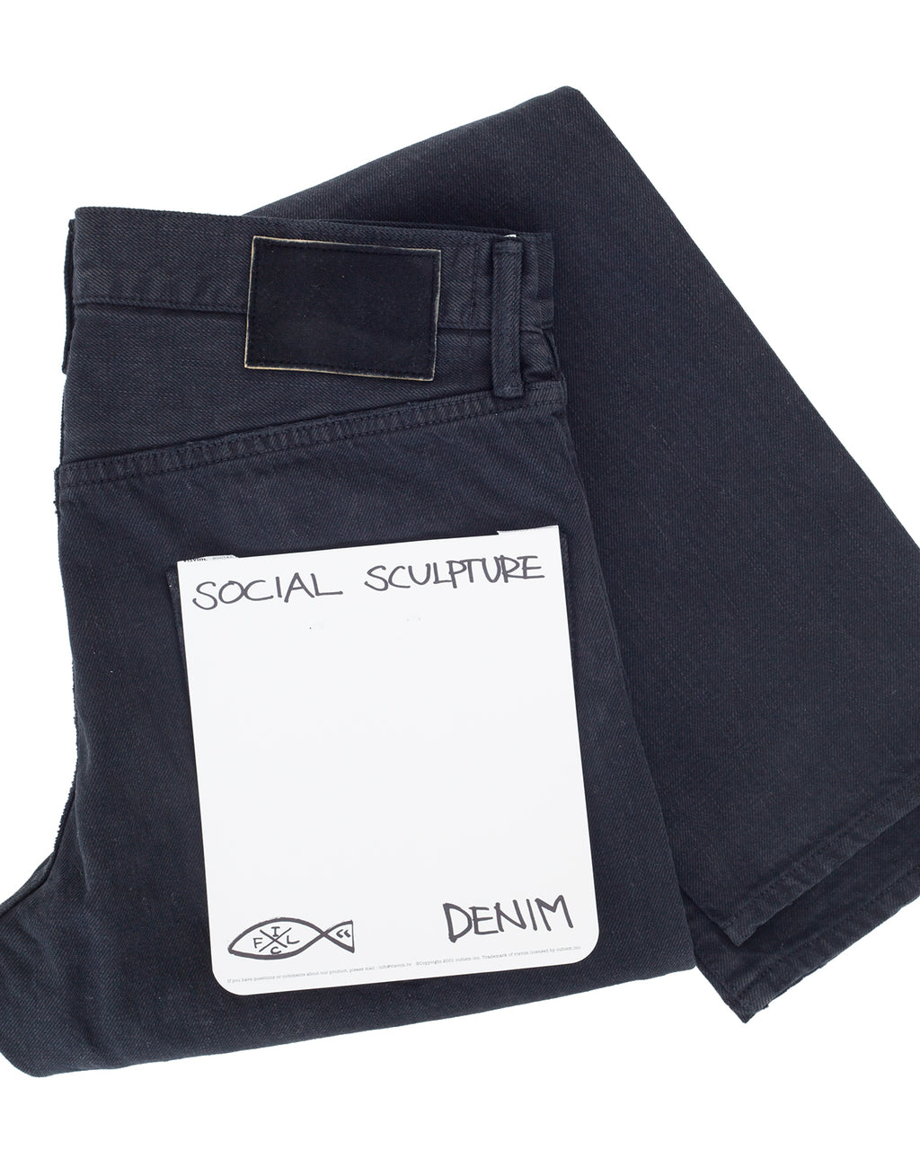 Visvim Social Sculpture 12 Black, Damage 17
