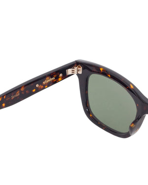 Visvim Scout Sunglasses, Dark Brown