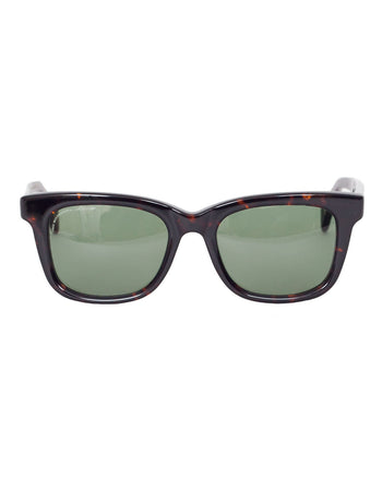 Visvim Scout Sunglasses Dark Brown