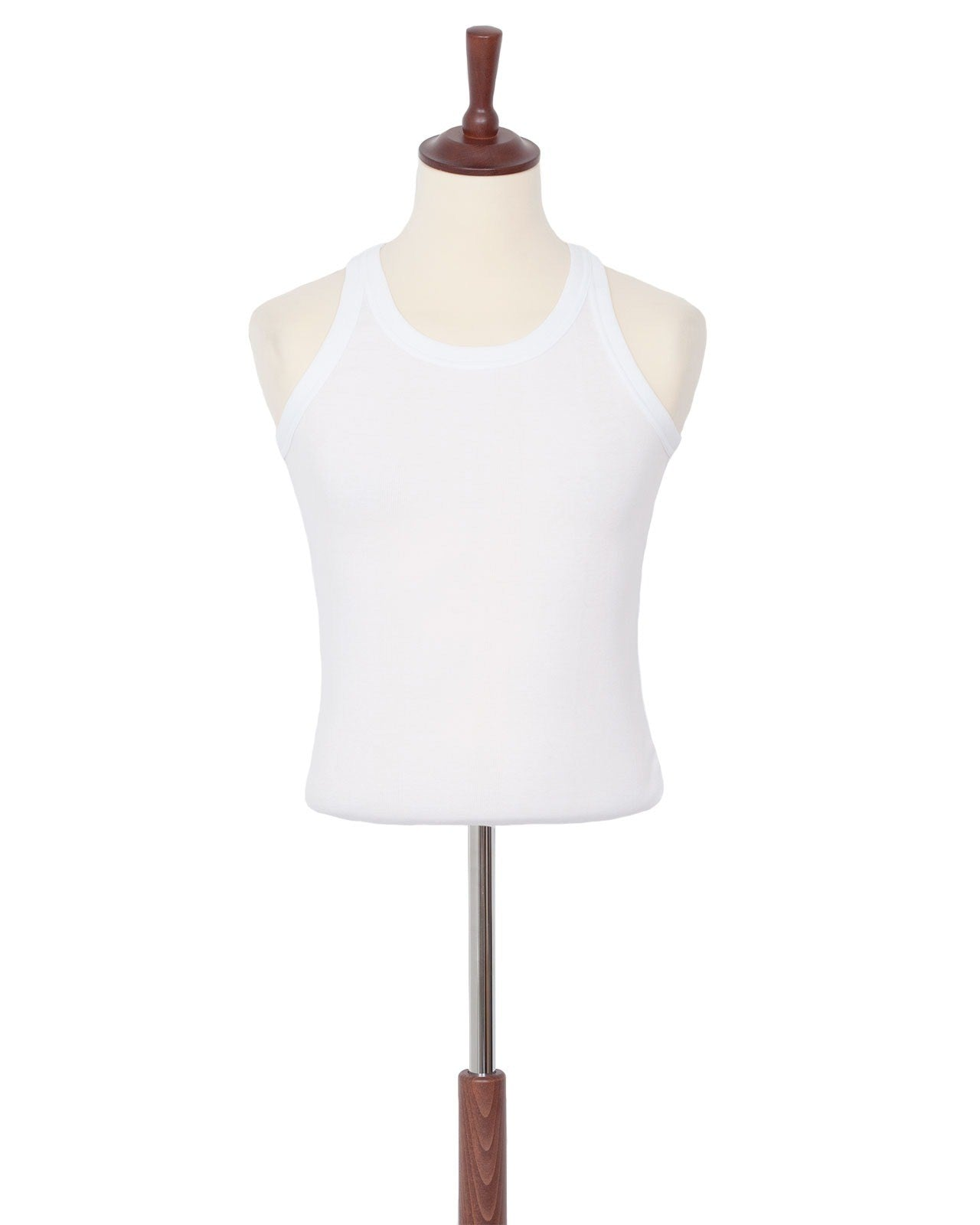 The Letters Standard Rib Tank, White