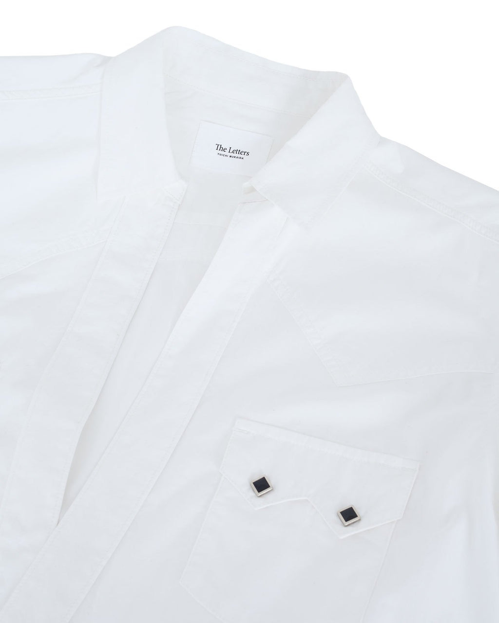The Letters Western Cutting Shirt, Broad Cloth
