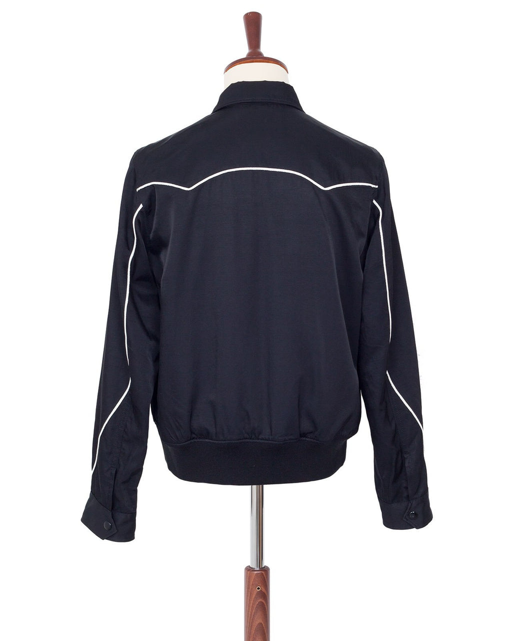 The Letters Western Sport Jacket, Rayon Cotton Twill