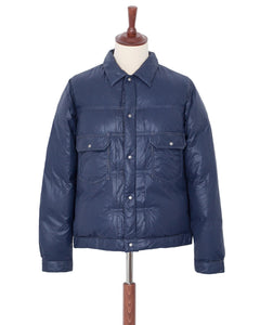 Visvim 101 Down Jacket Navy