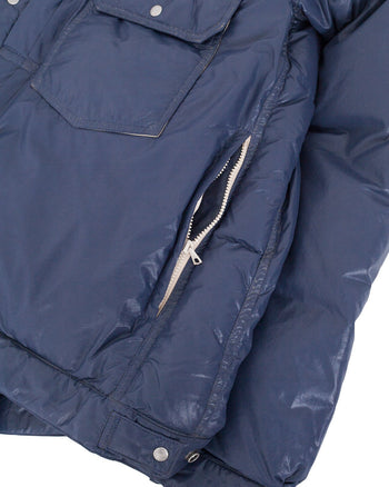 Visvim 101 Down Jacket, Navy