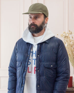 Visvim Excelsior Cap and 101 Down Jacket