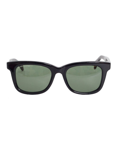 Visvim Scout Sunglasses, Black