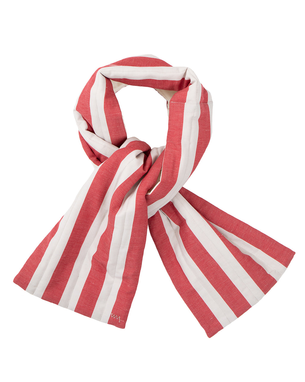 Visvim Stripes Muffler, Red
