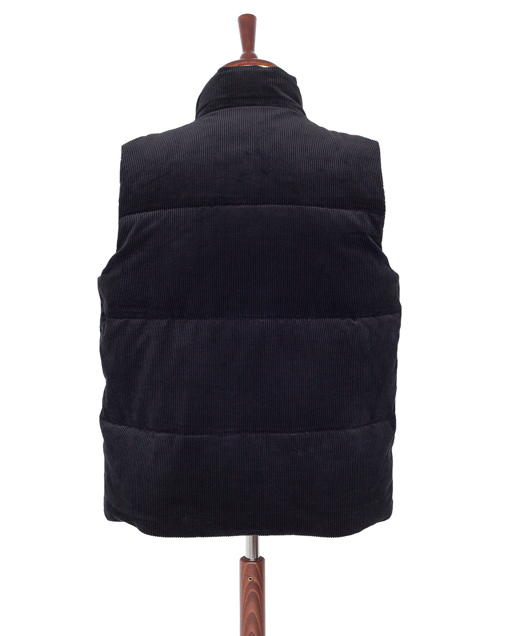 Weirdo Corduroy Down Vest, Black