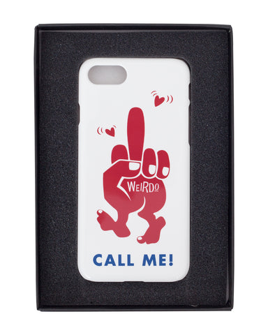 Weirdo Iphone 8 Case, The Finger