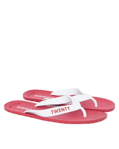 Weirdo Twenty Minutes? Sandal, Red