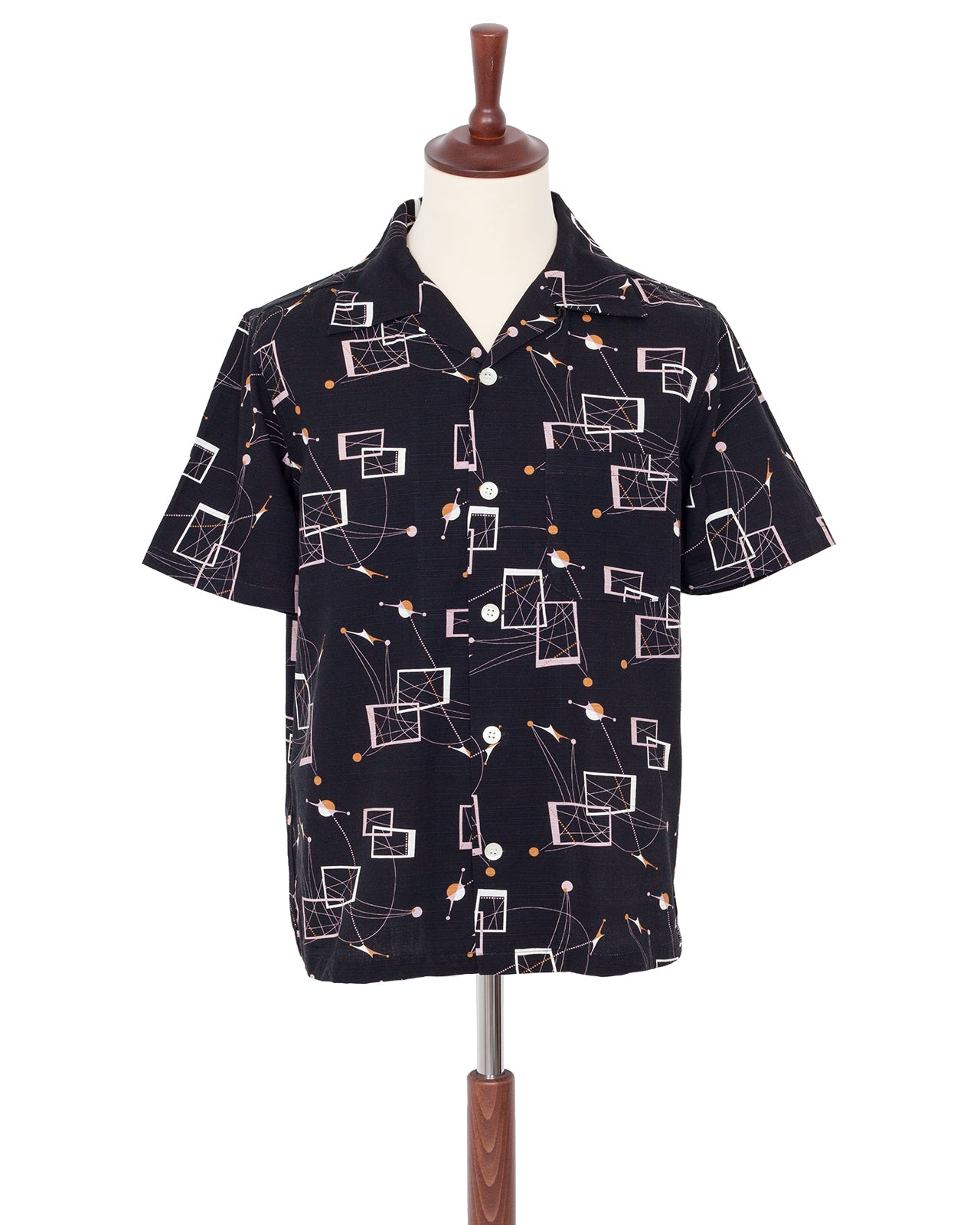 Weirdo Short Sleeve Shirt, Atomic Weirdo, Black