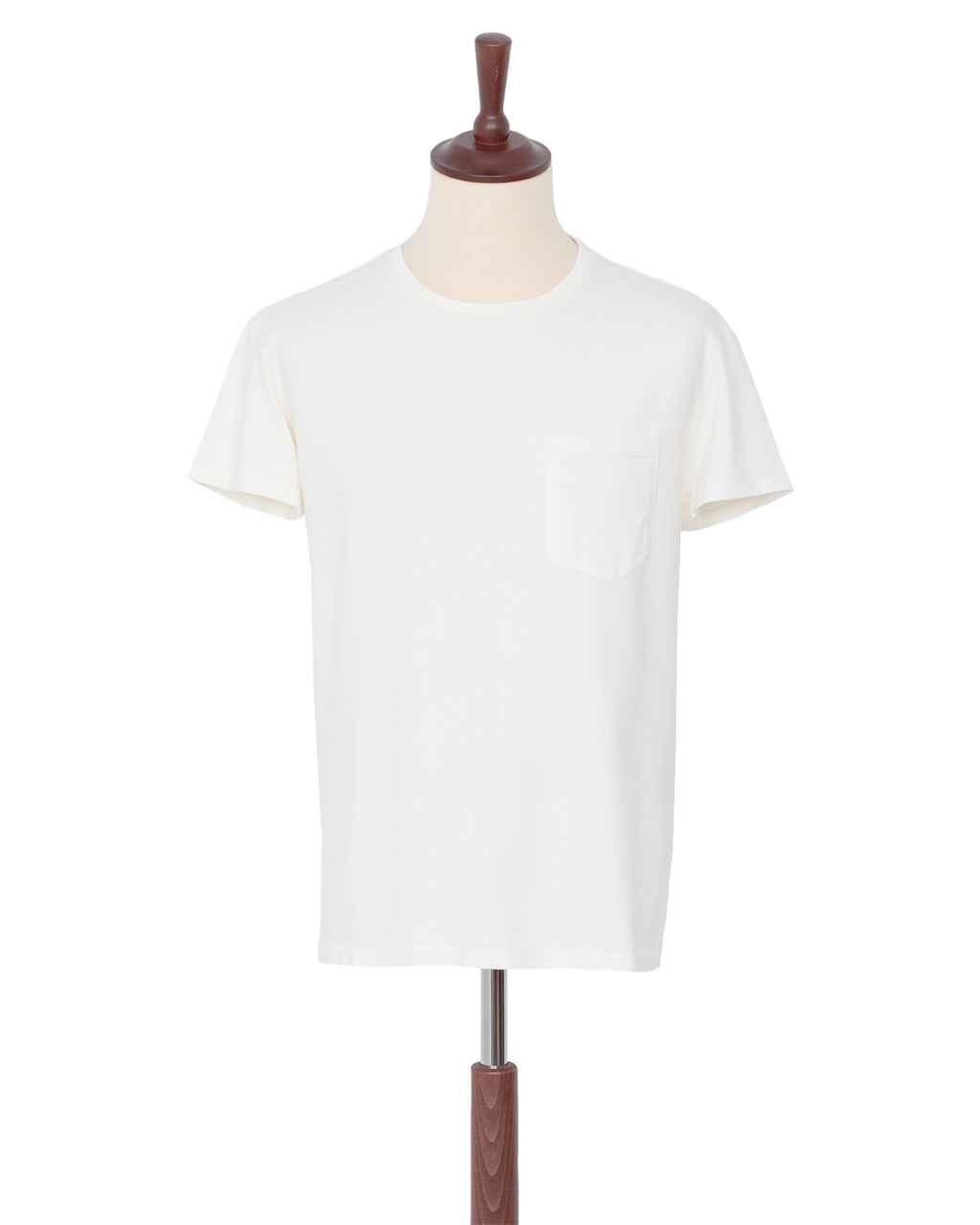 Indigofera Wilson T-Shirt, Cocatoo White