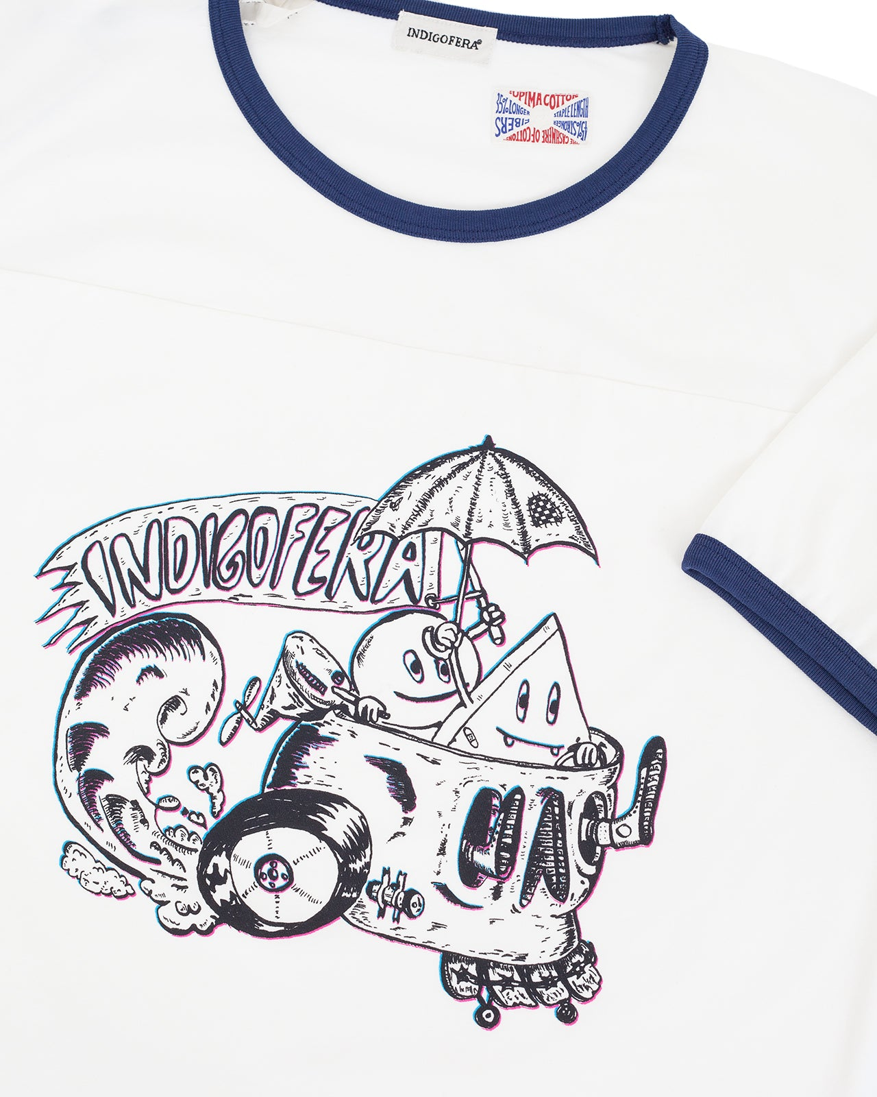 Indigofera Kernion T-Shirt, The Last Endless Summer