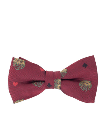 Weirdo Bow Tie, Ringing Tiger, Red