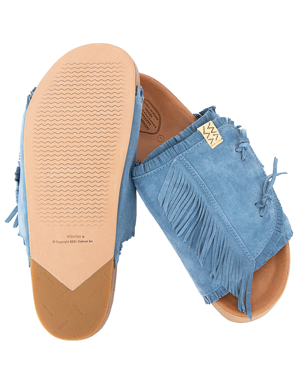 Visvim Christo Shaman-Folk, Blue