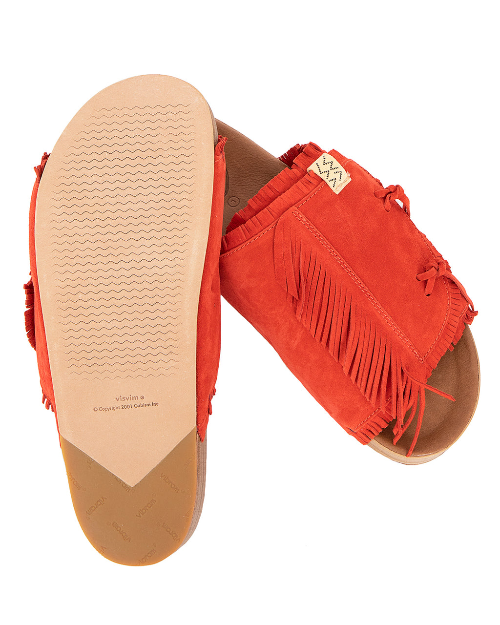 Visvim Christo Shaman-Folk, Red