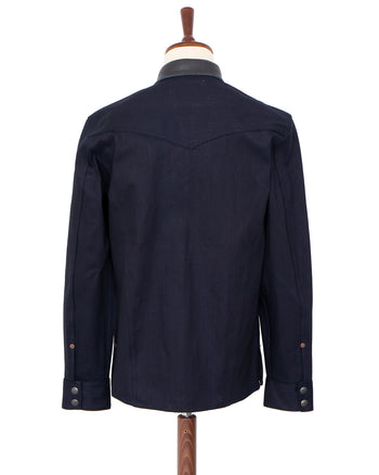 Indigofera Eagle Rising Jacket, Indigo / Black