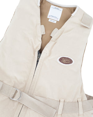 Visvim Harrier Down Vest, Ivory