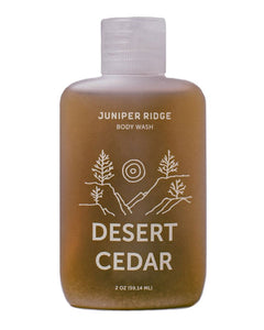 Juniper Ridge Body Wash, Desert Cedar, 2 oz