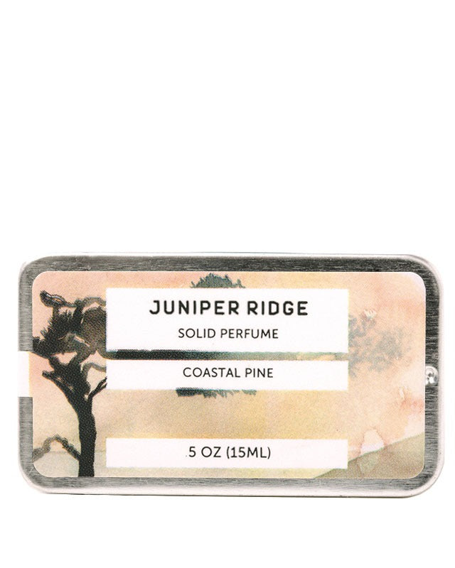 Juniper Ridge Solid Perfume, Coastal Pine