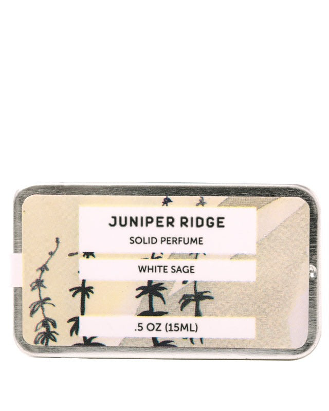 Juniper Ridge Solid Perfume, White Sage