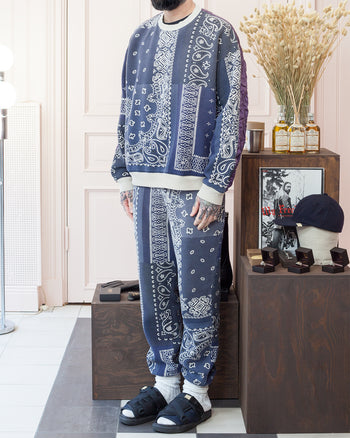 Kapital Fleecy Knit Bandana Sweat Pants Visvim Christo