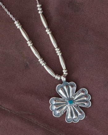 Larry Smith Clover Leaf Necklace