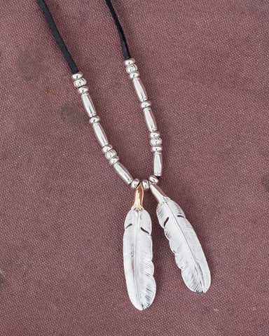 Larry Smith Feather Combination Necklace