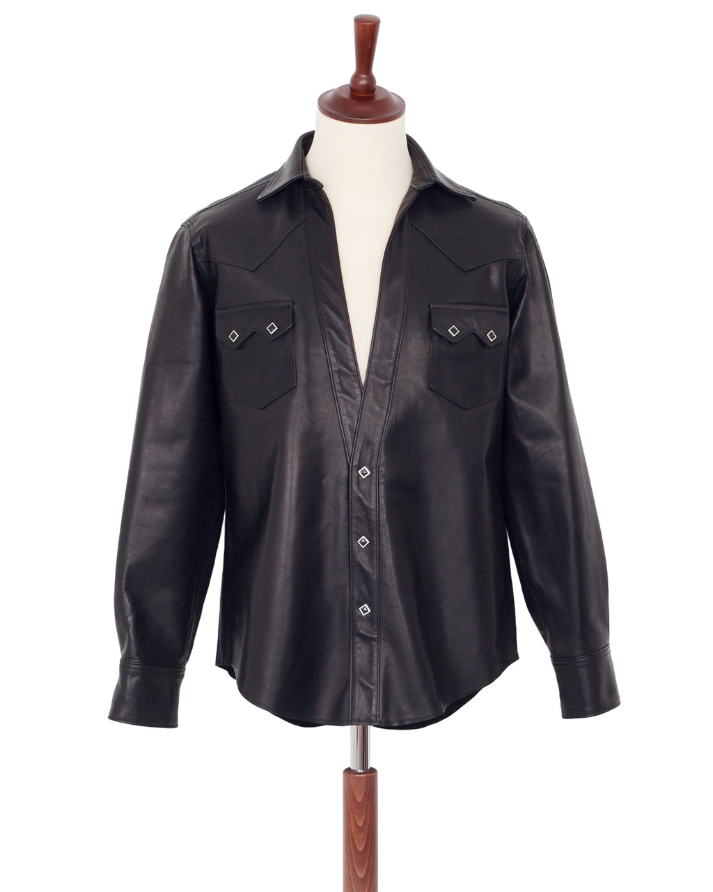 The Letters Western Cutting Shirt, Leather