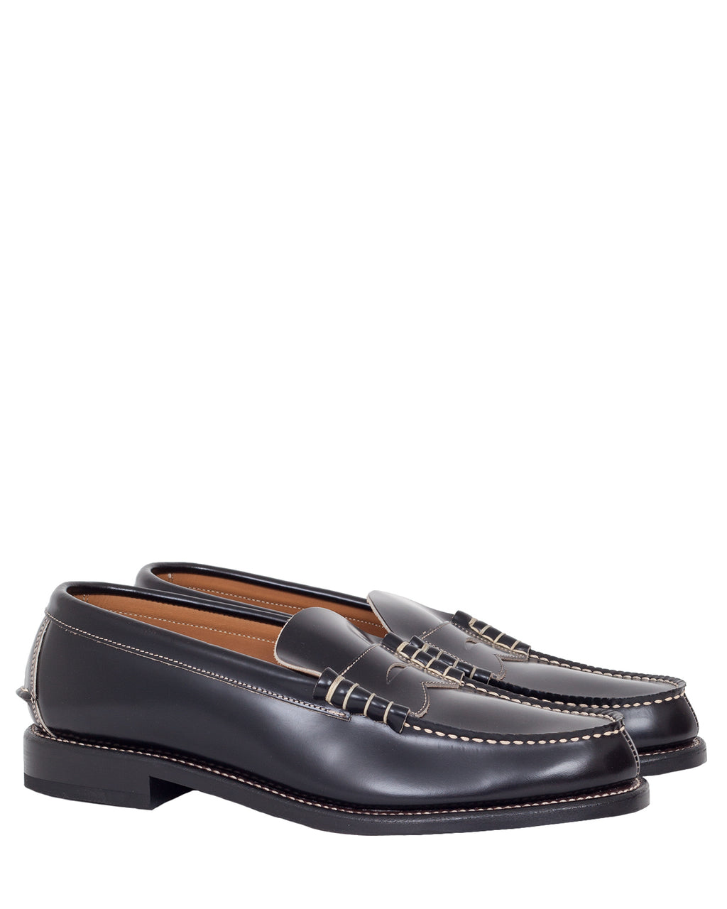 Glad Hand & Co x Regal, Coin Loafers, Black