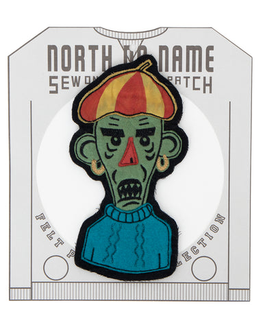 North No Name, Felt Patch, Monster