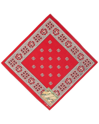 The Two Ears Brand Bandanna, Red