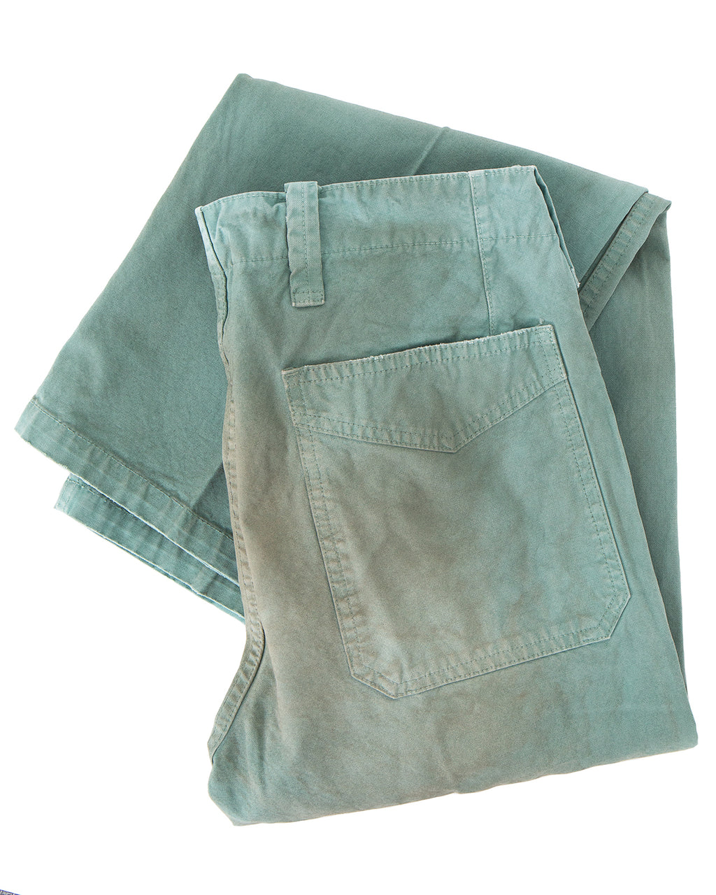 Visvim Gifford Pants Damaged, Green