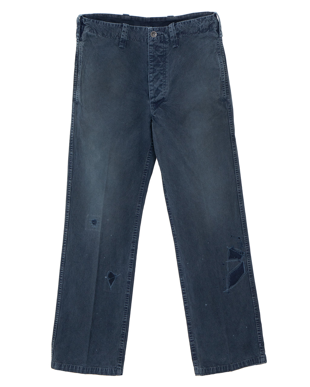 Visvim Gifford Pants Damaged, Indigo