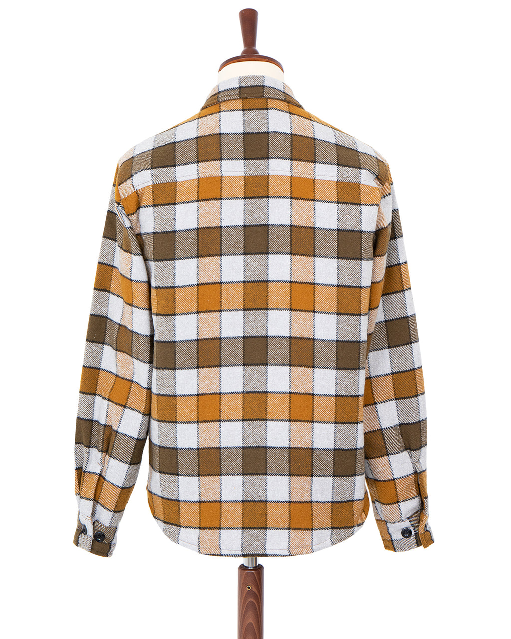 Weirdo Quilting Check Shirt, Yellow